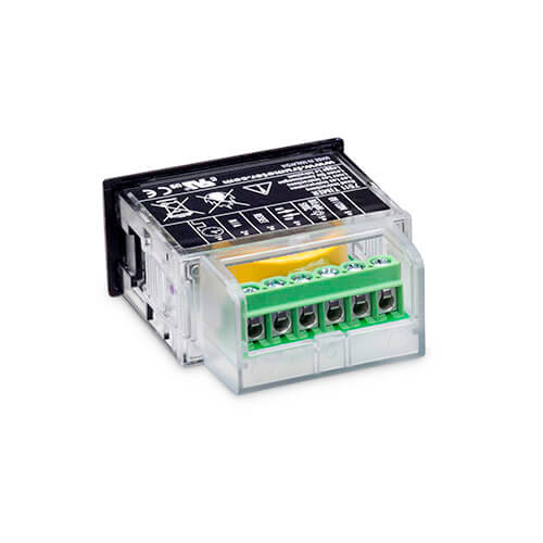 7511HV High Voltage Hour Meter Rear View