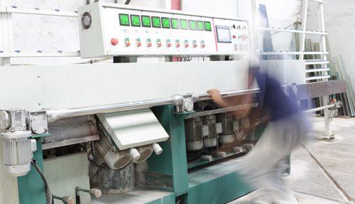 apm in glass processing machine