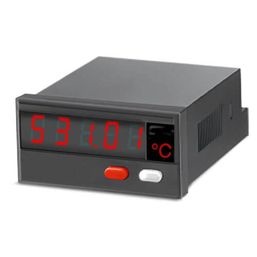 531 Temperature Display for Pt100 and Ni100 RTD's