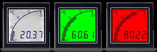 APM Temp Meter Display Colors