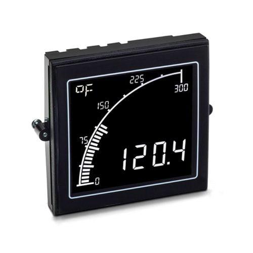 APM Temperature Meter Negative Display