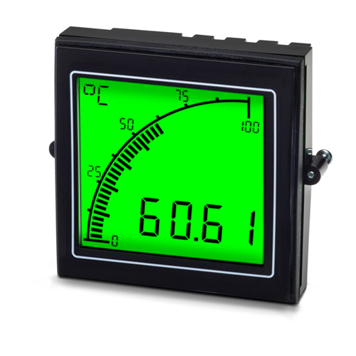 APM Temp Meter Positive Display
