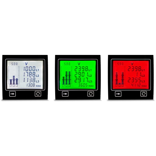 APM in white, green and red