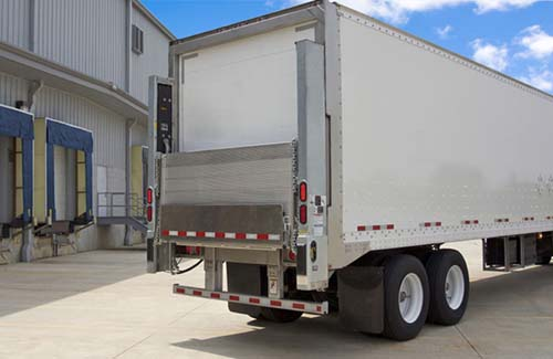 truck with liftgate